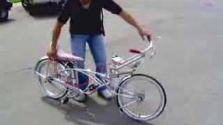 Russell's lowrider bike