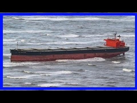 Stranded cargo ship free of german sandbank after three days