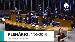 Plenário - Homenagem ao 1º ano do coletivo de trabalhadores Assédio Nunca Mais - 24/06/2019 09:00