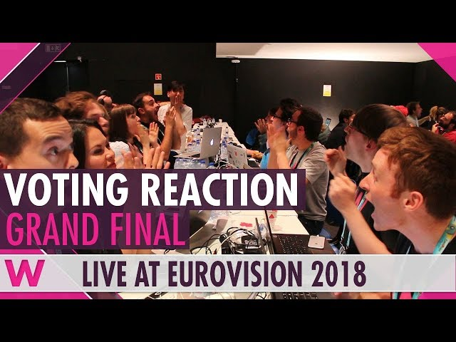 Eurovision 2018: Live reaction to Grand Final televoting result   wiwibloggs