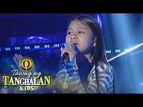 Tawag ng Tanghalan Kids: Aika Castro   Kahit Konting Awa
