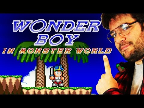 LIVE - WONDER BOY in Monsterworld [RUN COMPLETA]