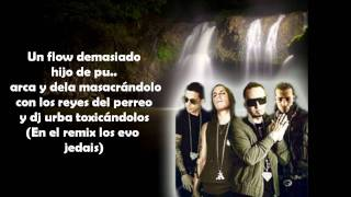 Camuflaje (Official Remix) (Letra/Lyrics) - Alexis y fido Ft. Arcangel & De La Ghetto
