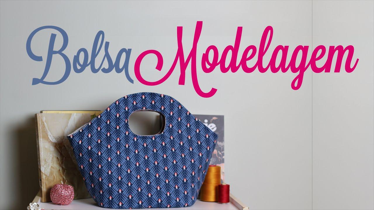 Bolsa De Mão Artesanal Como Fazer : Patricia cardoso como fazer modelagem de bolsa