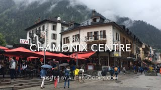 Chamonix Village Center in Summer, France | allthegoodies.com