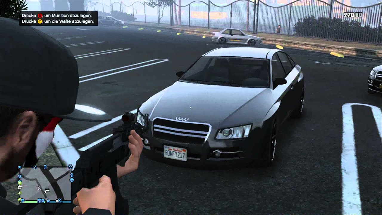 GTA V Online:How to find the Obey Tailgater - YouTube