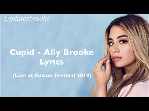 Cupid - Ally Brooke (Lyrics)