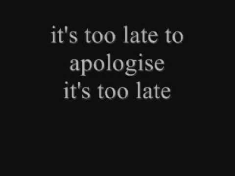 TIMBALAND FEAT. ONE REPUBLIC - APOLOGIZE LYRICS