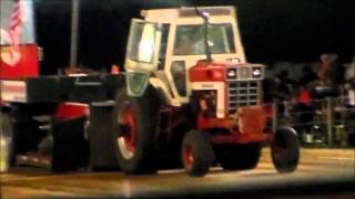 15,000LB FARM STOCK TRACTORS PULLING AT THE 2013 WYOMING, IOWA NATIONALS