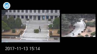 Video Dramatic moment North Korean soldier makes mad-dash defection across DMZ download MP3, 3GP, MP4, WEBM, AVI, FLV Desember 2017