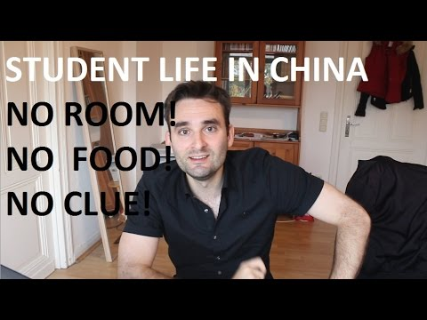 Student Life in China No. 1 - First Arrival (China Talk #1)