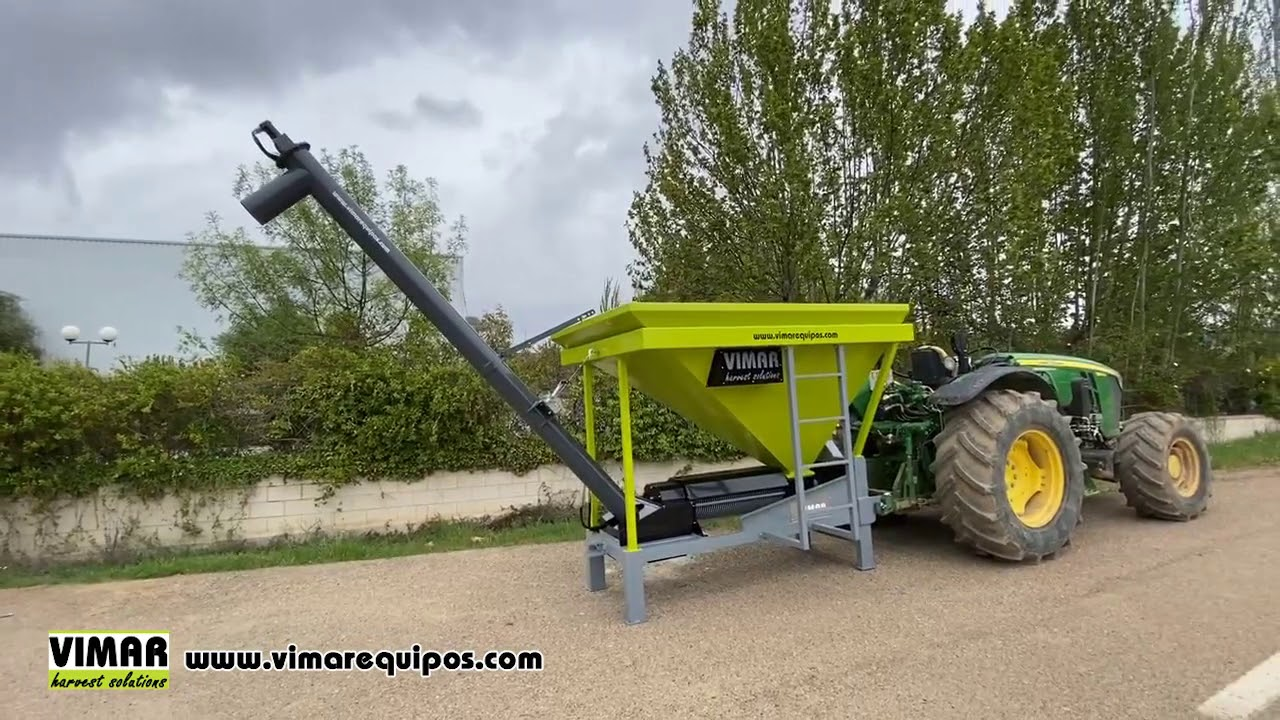 Peladora de almendra monocuerpo a TDF del tractor Vimar KM
