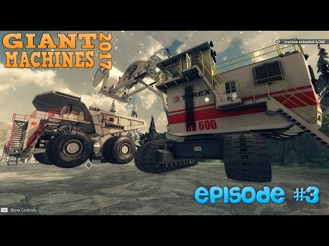 URANIUM MINING AND HULLING | Giant Machines 2017 Ep3 | Let's play Giant Machines 2017 Gameplay