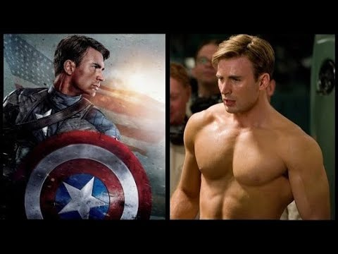 How Chris Evans Trained For His Captain America Physique