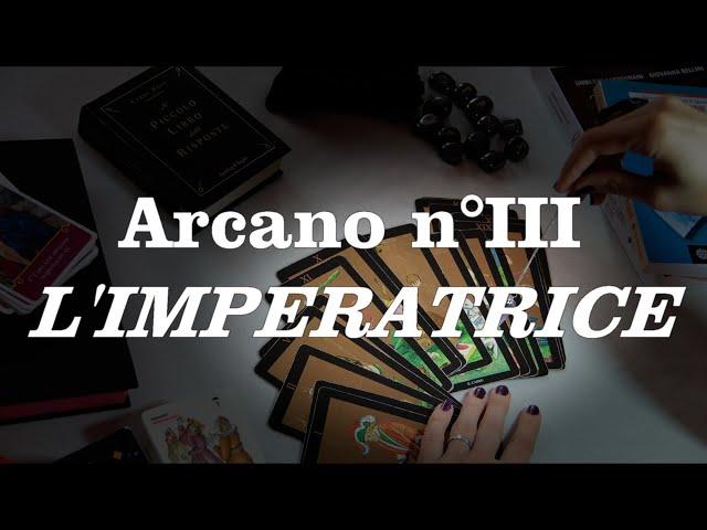 Tutorial sui tarocchi - L'imperatrice n°III