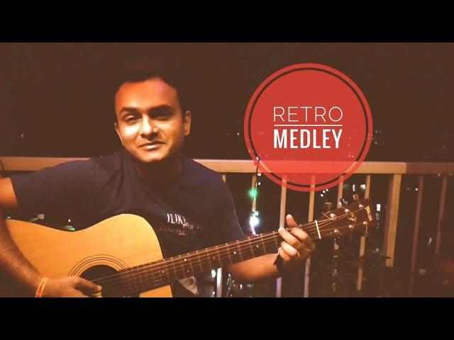 Retro Medley | Acoustic Guitar Unplugged | Vishwajeet