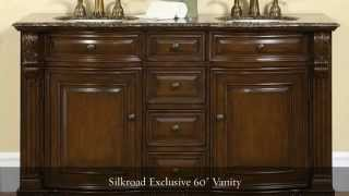 Compact Double Bathroom Vanities From Homethangs.com