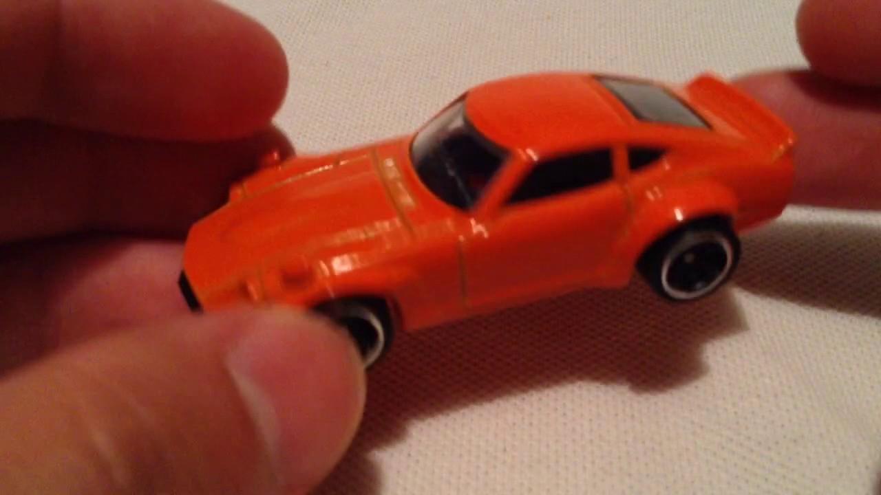 Hot Wheels Custom Datsun 240z Fuguz New For 2017 Factory Fresh Tomica Reguler Go Blue Orange Recolor