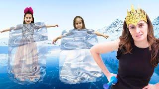 Что случилось с детьми на празднике Алины и Юляшки  Кто расколдовал девочек
