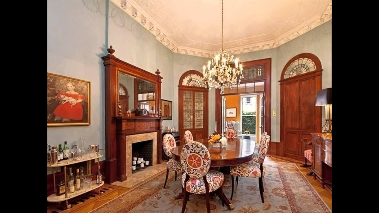 Awesome classic victorian home interior design decoration elegant youtube Interior design ideas for edwardian houses