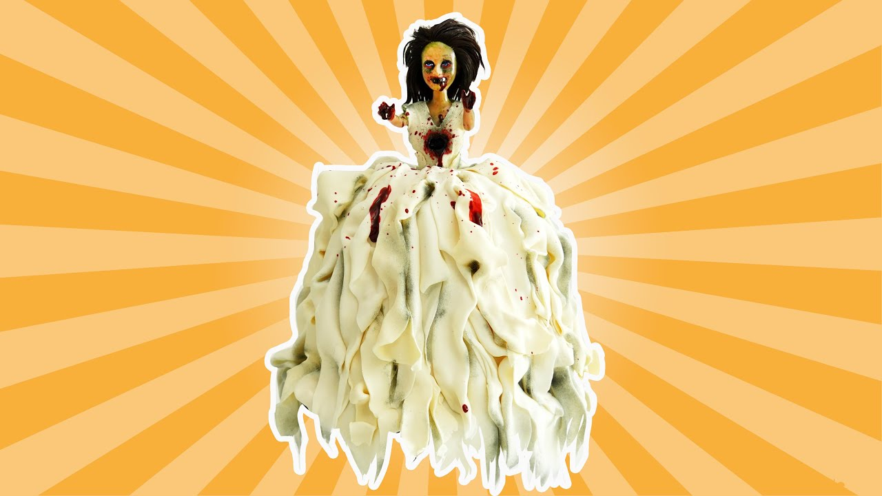 Making a Zombie Doll Cake!