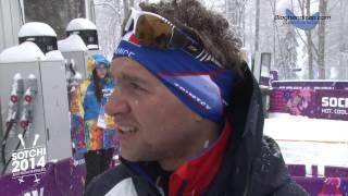 Benjamin Daviet après la demi-finale du 1km sprint - www.bloghandicap.com - La Web TV du Handicap