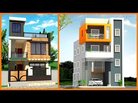 50 Modern Small House Front Elevation Design 3d Views Front