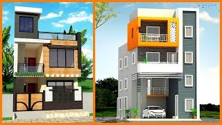 50 Modern Small House Front Elevation Design- 3d Views Front Elevation- Plan N Design