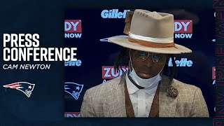 "Cam Newton: ""I have to deliver"" | Patriots Postgame Press Conference"