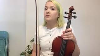 Violin with Amy Bache - Amy talks through how to play Fast Lane from Fiddle Time Joggers.