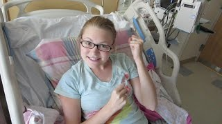 UPGRADED HOSPITAL BED!!! (7.23.15)
