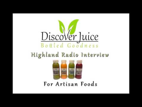Discover Juice - Highland Radio Interview
