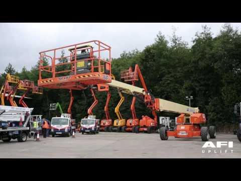 AFI MEWP Familiarisation videos JLG 1500SJS