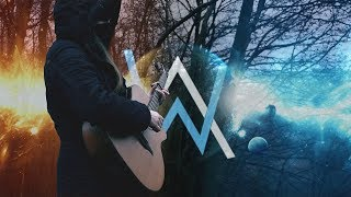 Download Lagu All Falls Down - Alan Walker ft. Noah Cyrus with Digital Farm Animals (Fingerstyle Guitar Cover) Mp3