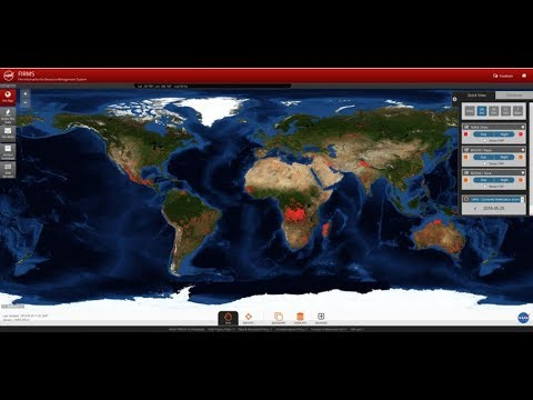 Discover NASA's Fire Information for Resource Management System (FIRMS)