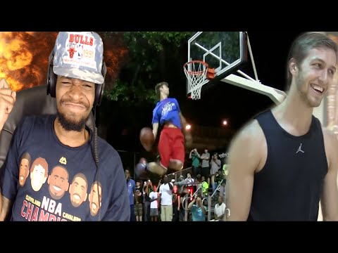 WHO SAYS WHITEBOYS CANT JUMP? JORDAN KILGANON BEST DUNKER IN THE WORLD MIXTAPE REACTION!