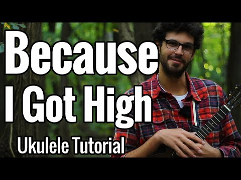 Afroman - Because I Got High - Ukulele Tutorial - Riff, Chords & Play Along