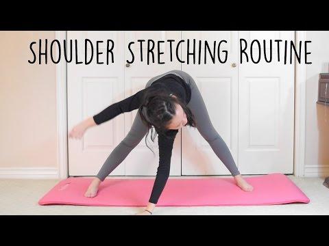 Shoulder stretches for flexibility