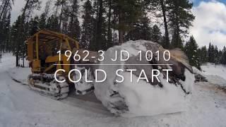 John Deere 1010 Cold Start