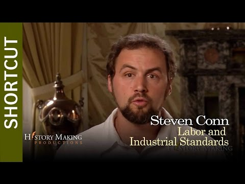 Steven Conn on Labor and Industrial Standards In Philadelphia