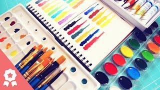 #APruebaDeOS - Acuarelas Crayola y Rodart ¿Son buenas marcas?