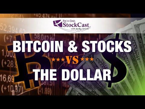 Bitcoin and Stocks vs the Dollar  - [Rich Dad's StockCast]
