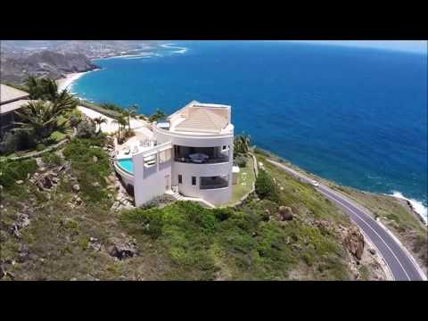 St Kitts Real Estate - Stunning Luxury Home for Sale on the