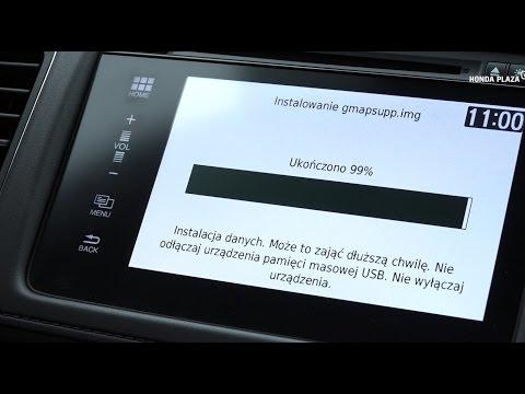 Poradnik HondaPlazaTV- #3 aktualizacja map (nawigacji) w Honda Connect+