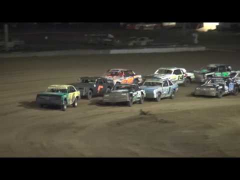 IMCA Hobby Stock feature Independence Motor Speedway 8/13/16