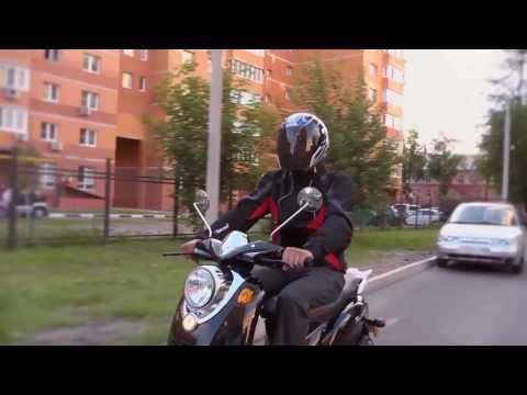 Видеосюжет о скутере IRBIS Prometey Ирбис Прометей