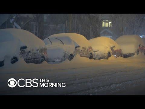 Historic snowfall and rain hammer U.S. coast to coast