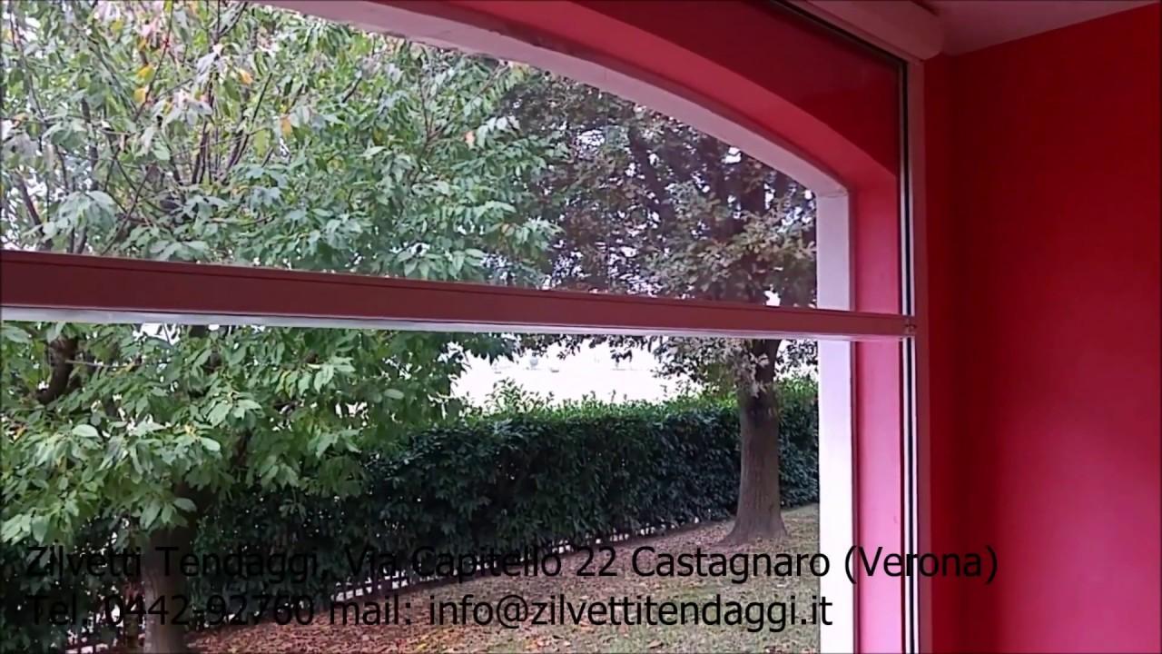 Chiudere Un Terrazzo In Muratura chiusura in pvc cristal trasparente per portico ad arco