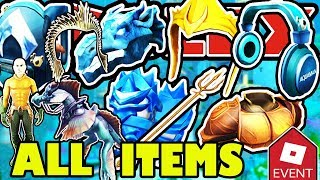 [EVENT] HOW TO GET ALL ITEMS IN THE ROBLOX AQUAMAN EVENT 2018 | Full Walkthrough and Tutorial Guide
