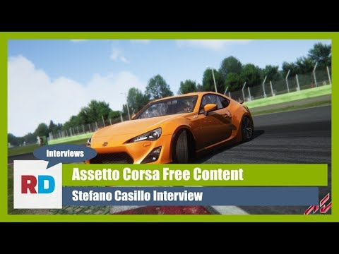 Free Content for Assetto Corsa interview with Stefano Casillo